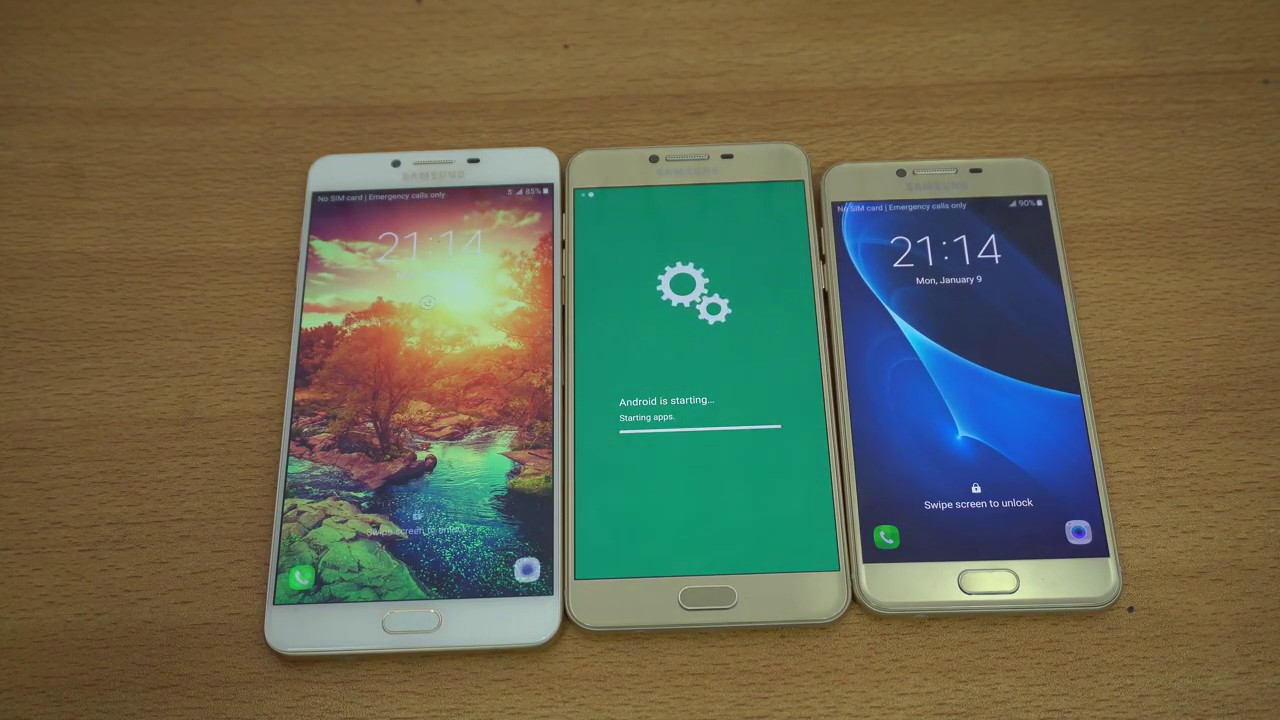 Nový firmvér z Číny podporuje GMS.  Samsung Galaxy C9 Pro, C7 Pro a C5 Pro dostanú obchod Play čoskoro !! 1