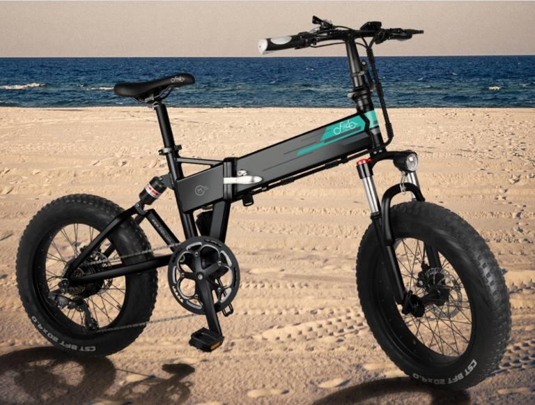 FIIDO M1, skladací elektrický bicykel, ktorý príde menej ako 10 099 EUR 1