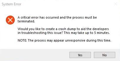 Fix Valorant System Error: Vyskytla sa kritická chyba a proces sa musí ukončiť