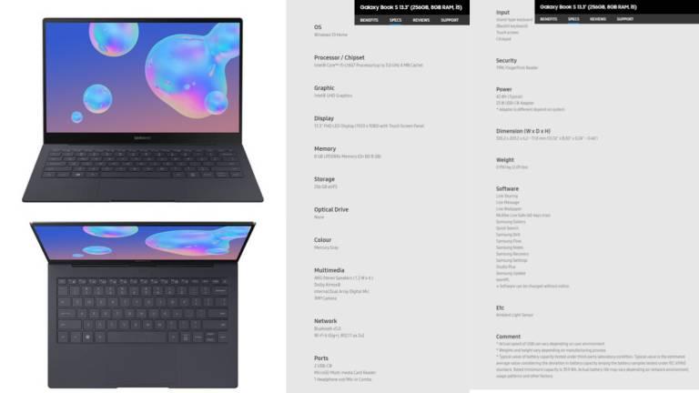 Galaxy Kniha S, Surface Pro Challenge s technológiou Intel Lakefield 1