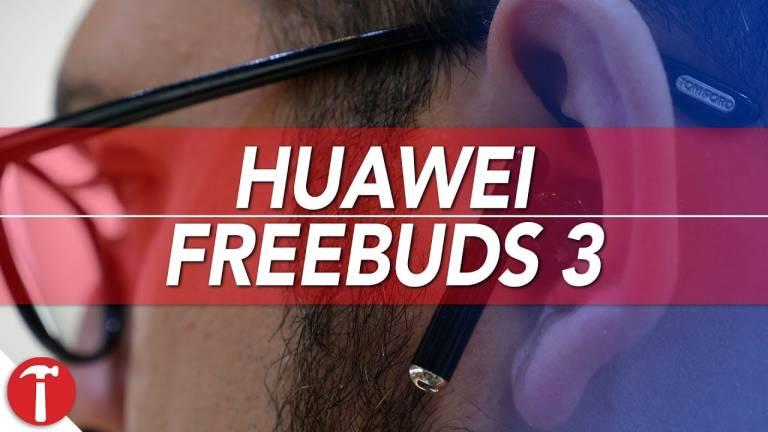 Huawei FreeBuds 3, verkliga trådlösa hörlurar perfekt för telefonsamtal 1