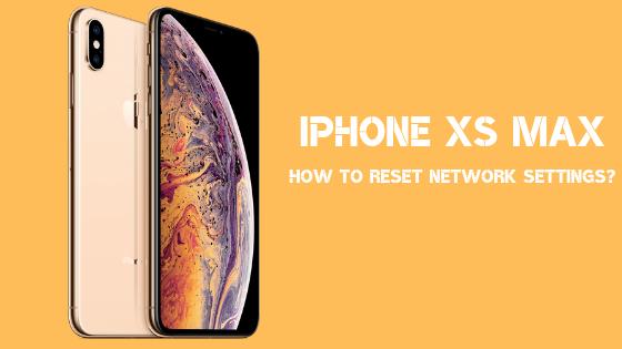 Ako resetovať nastavenie siete na zariadení iPhone XS Max? 1