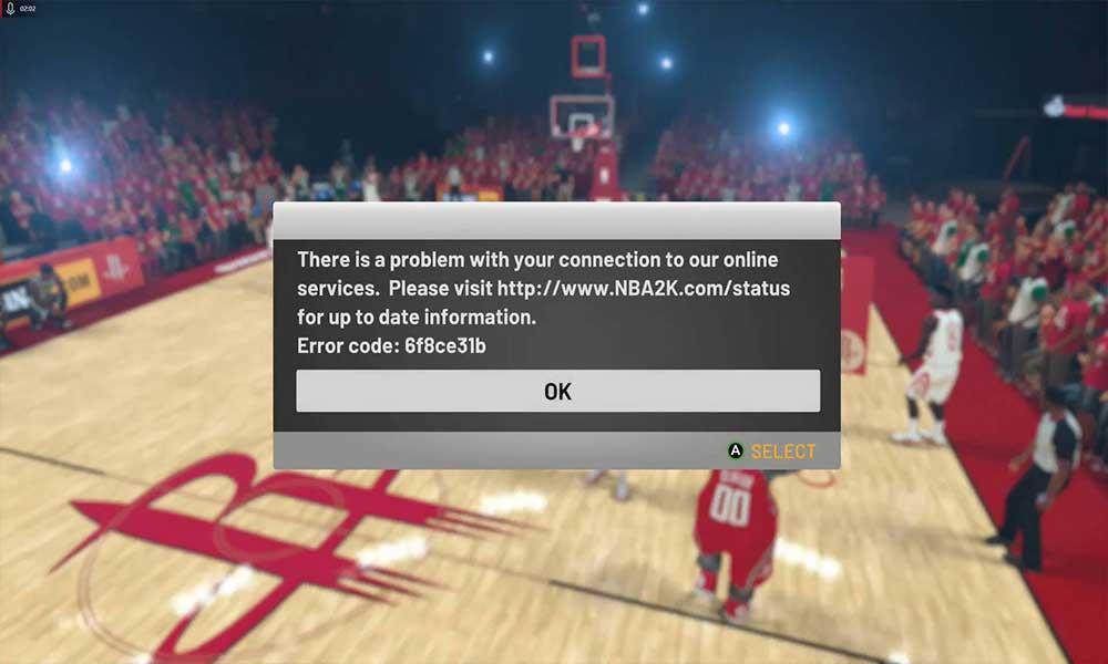 Ako opraviť kód chyby NBA 2K20 6f8ce31b 1