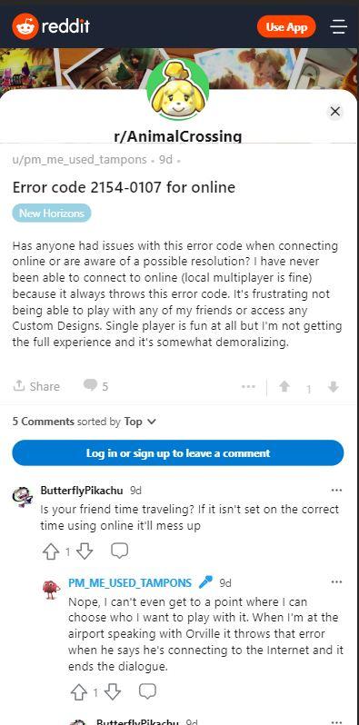 chybový kód prechodu zvierat