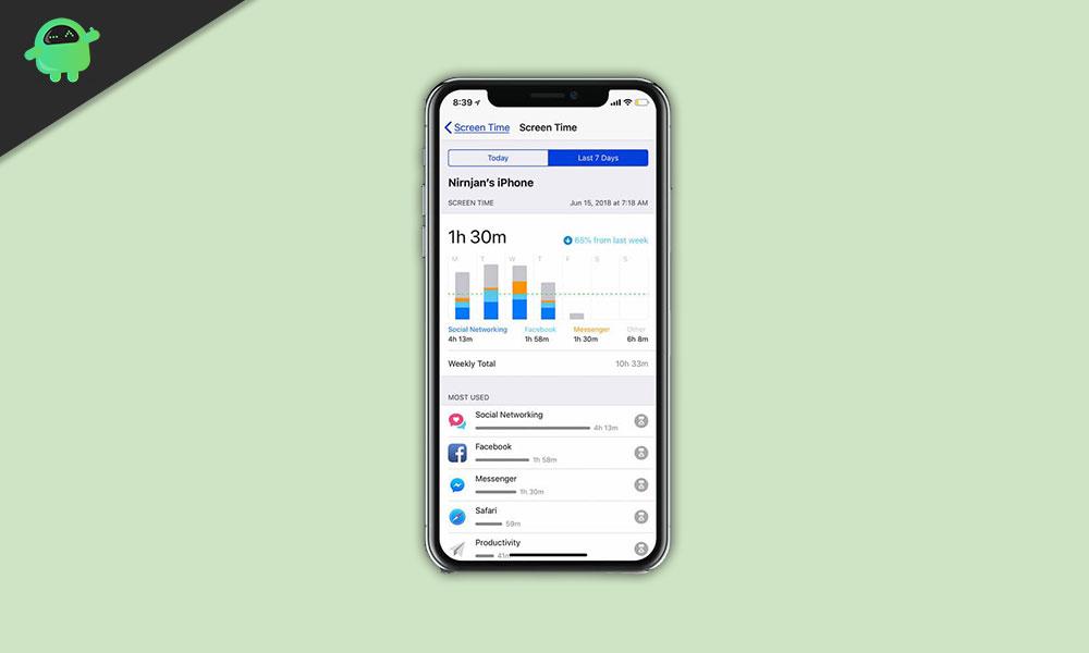 Ako zakázať vstavané aplikácie a funkcie v iPhone s časom obrazovky 1