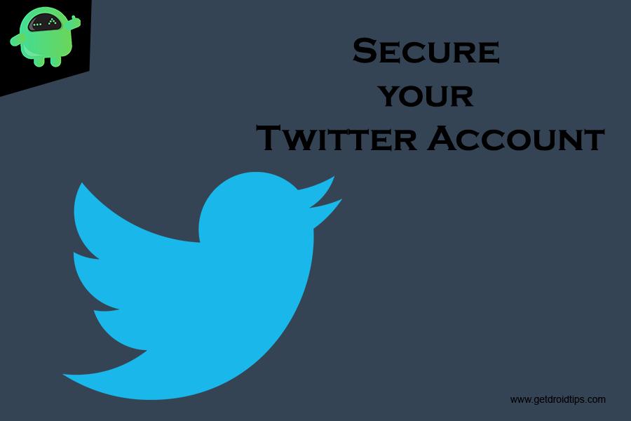 Ako zabezpečiť svoj Twitter Účet?  - Twitter Bezpečnostné tipy 1