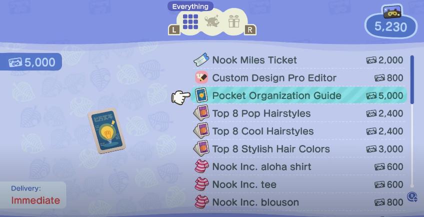 Ako rozšíriť a spravovať svoj inventár: Animal Crossing New Horizons 2
