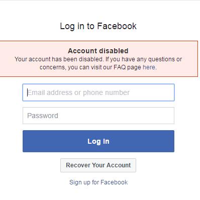 Ako zotaviť zdravotne postihnutú osobu Facebook Účet? 2