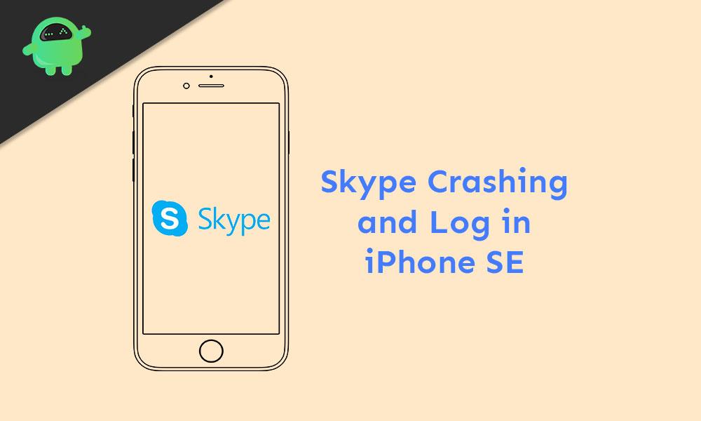Ako to opraviť Skype Problémy s zlyhaním aplikácie alebo prihlásením na iPhone SE 1