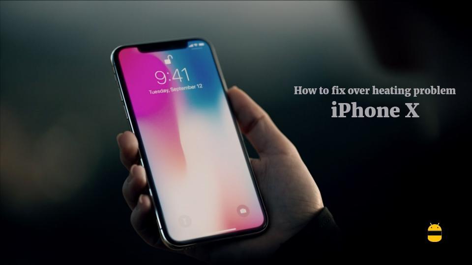 Ako vyriešiť problémy s prehriatím na iPhone X 1