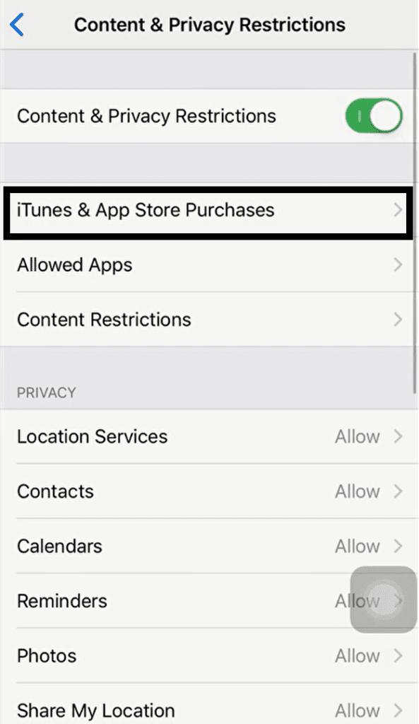 Ako zabrániť iPhone alebo iPad v inštalácii aplikácií s časom na obrazovke 3