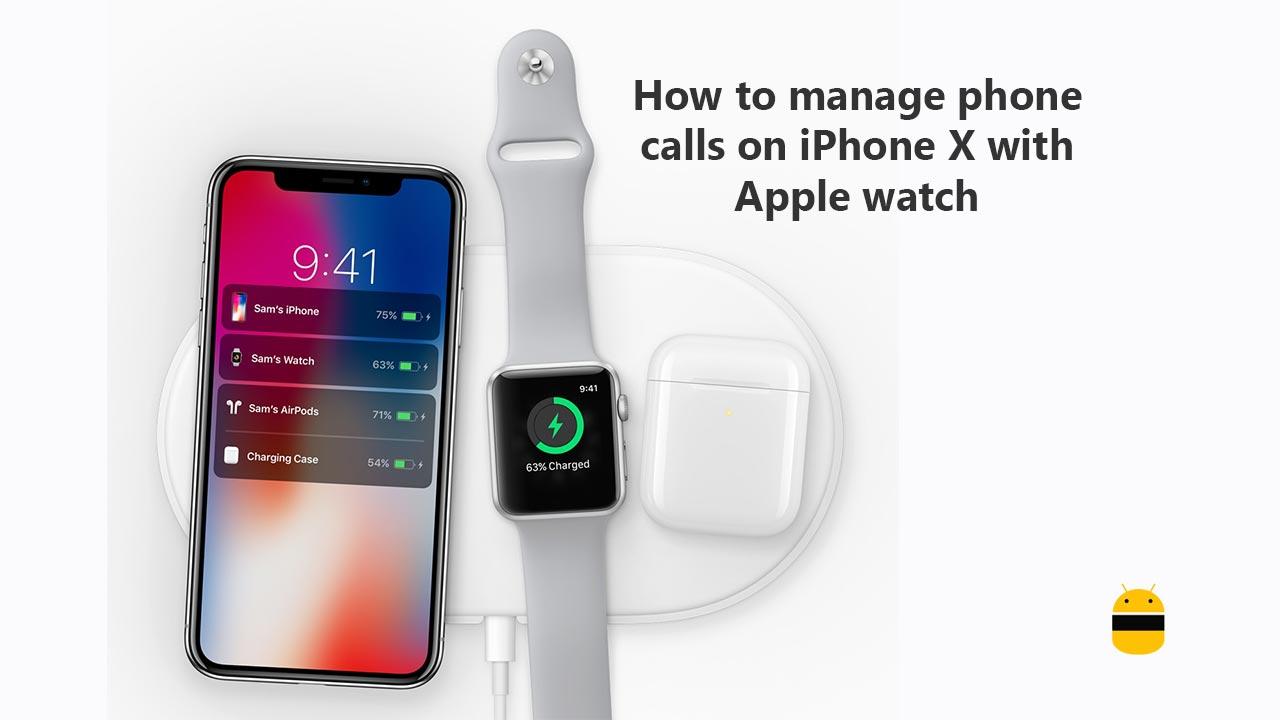 Hur man hanterar telefonsamtal på iPhone X med Apple Kolla på 1