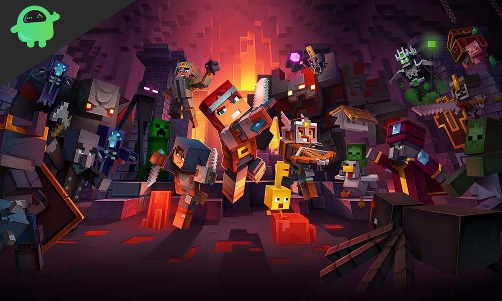 Kedy sa bude hrať platforma Minecraft Dungeons? 1
