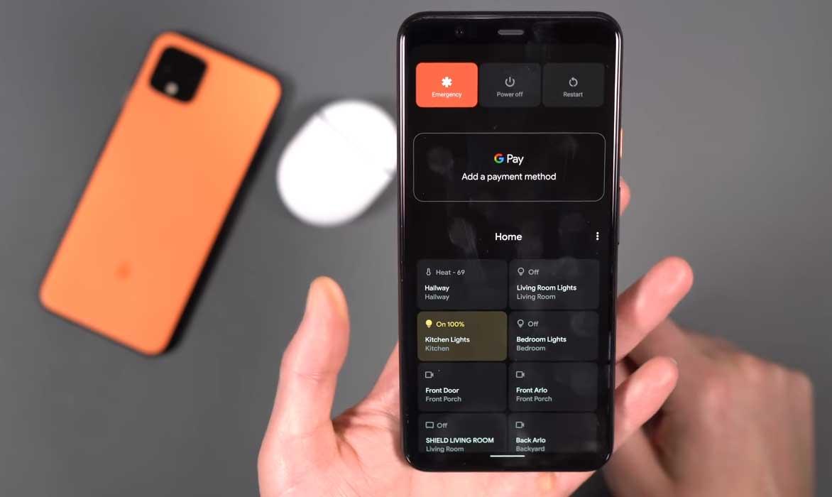 Ako odstrániť inteligentné domáce prepínače v systéme Android 11 Power Menu 1