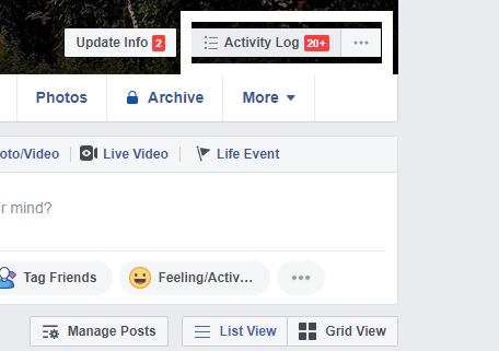 Ako odstrániť históriu vyhľadávania na Facebook 5