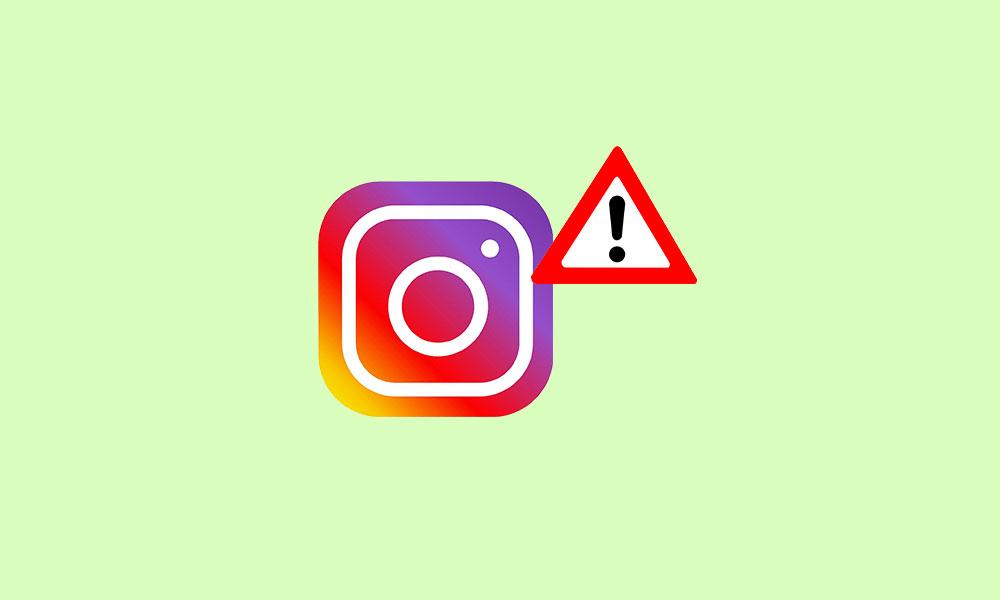 Instagram konto har inaktiverats eller blockerats?  Hur kan du fixa det? 1