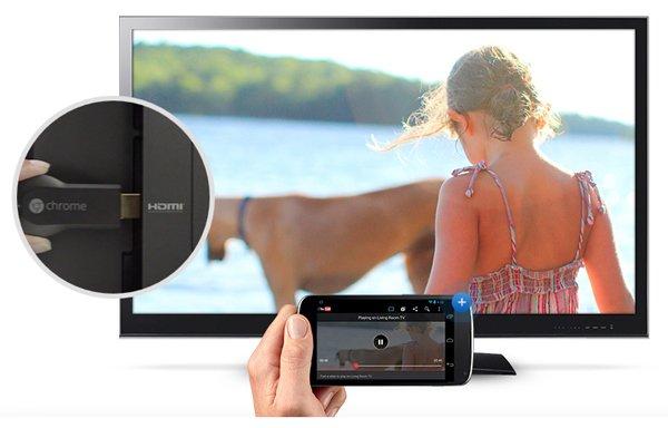 Vyhoďte obrazovku Android do inteligentnej televízie