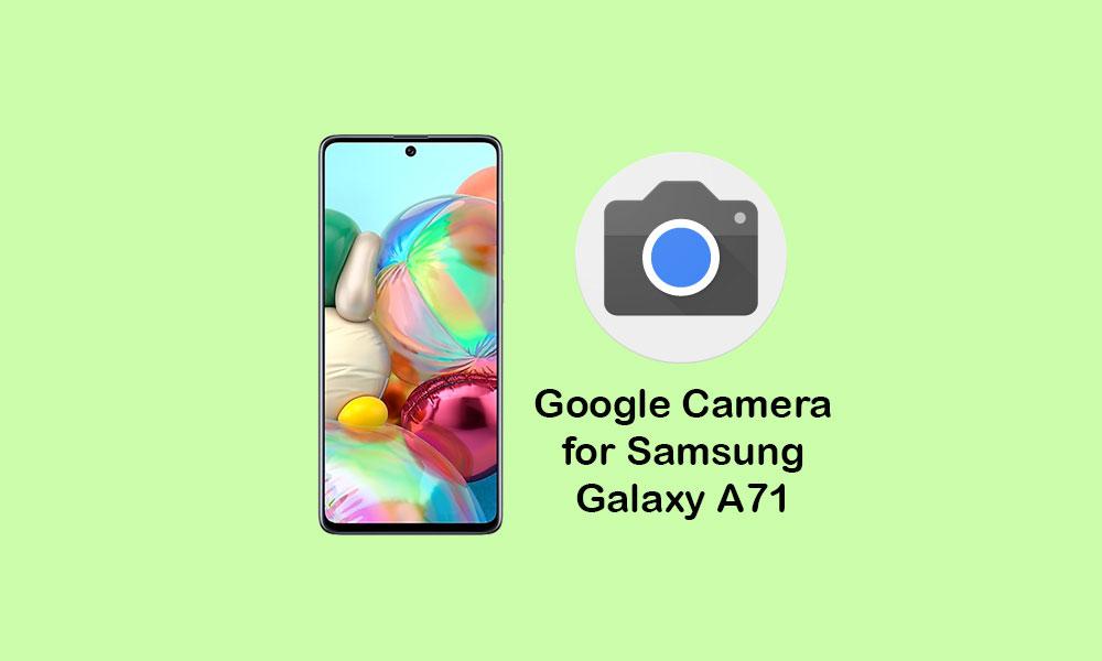 Stiahnite si aplikáciu Fotoaparát Google pre Samsung Galaxy A71 1