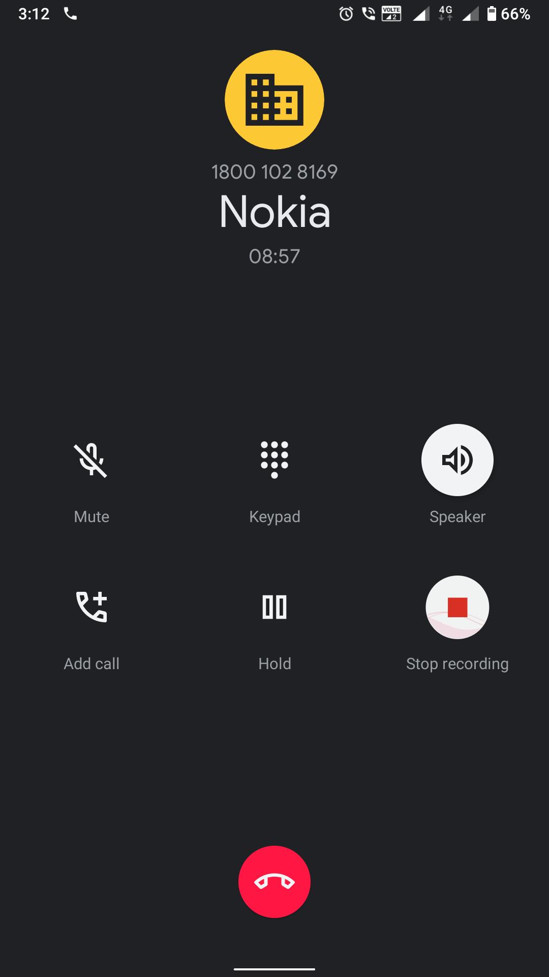 Telefón Nokia s nahrávaním hovorov Google