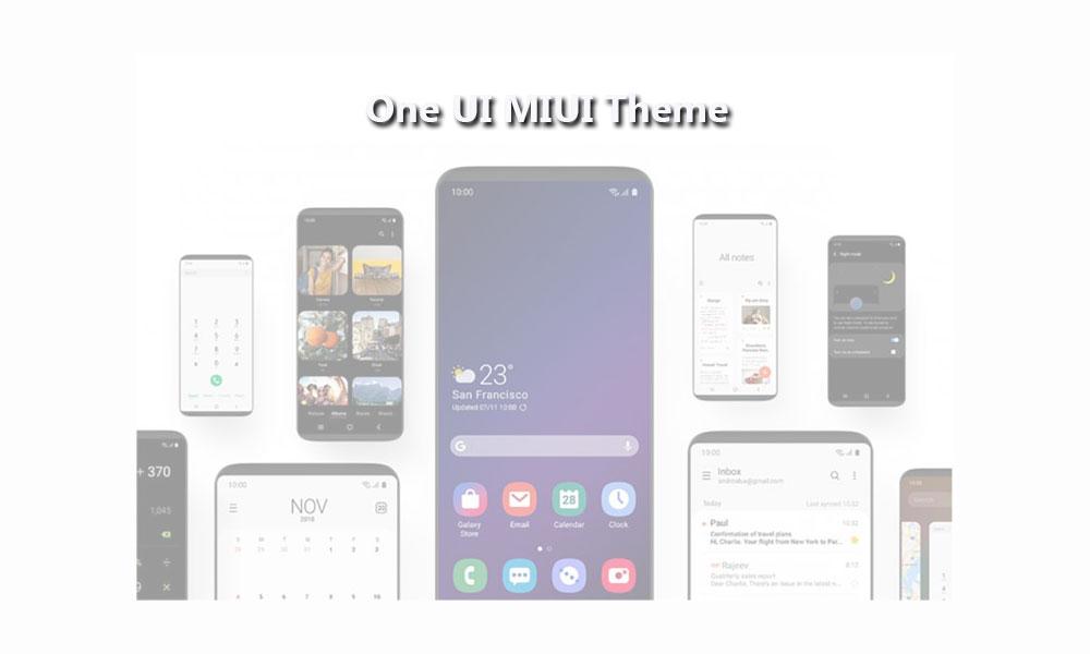 Ladda ner Samsung One UI MIUI-tema för Xiaomi-telefoner 1