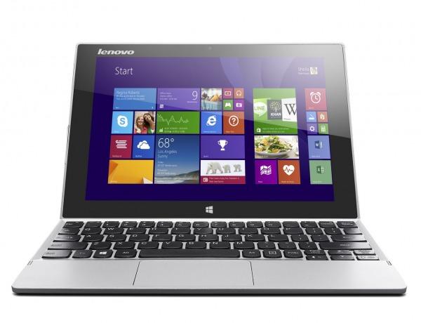 Lenovo Miix 2 10, luxusný tablet s vysokým rozlíšením Full HD s klávesnicou 1
