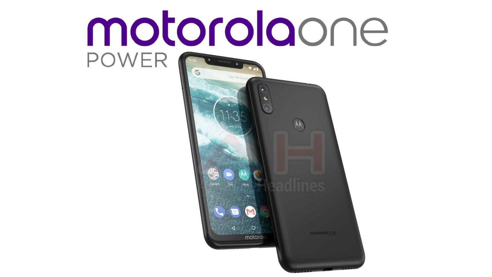 Motorola One Power - Druhé zariadenie Android One od spoločnosti Motorola s hackom 1