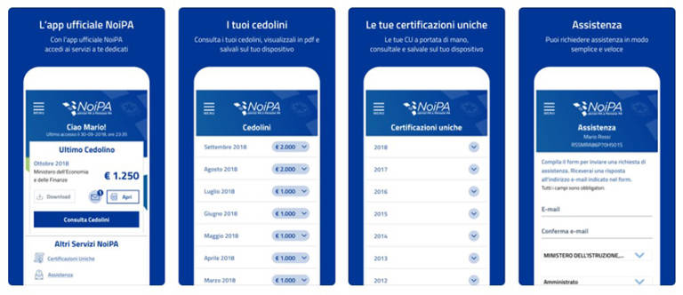 NoiPA, appen för att kontrollera lönen till offentliga anställda 1