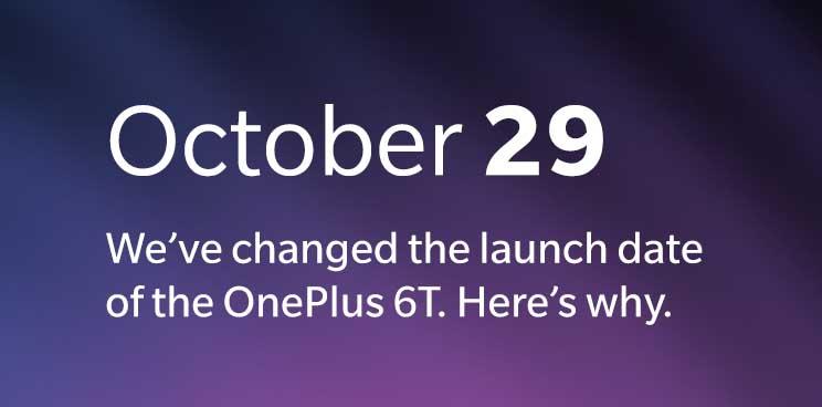 OnePlus 6T Dátum vydania Časový harmonogram, aby sa predišlo kolízii s Apple udalosť 1