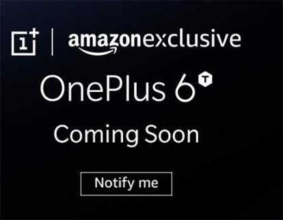 OnePlus 6T bude Amazon Výhradne spolu s ďalším chladným prekvapením 1