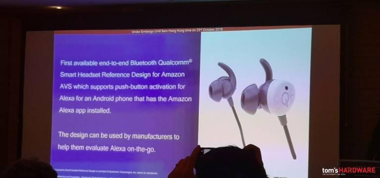 Qualcomm, tu je vývojový balík, ktorý môžete využiť Amazon Alexa v bezdrôtových slúchadlách 1