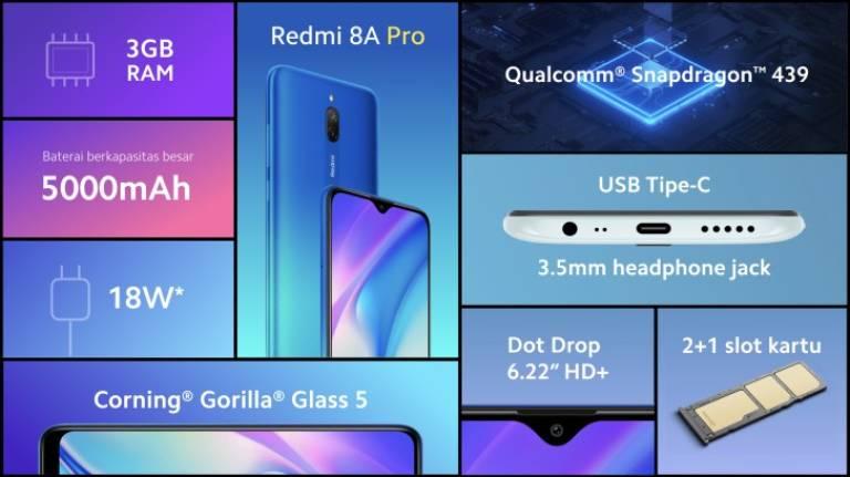 Redmi 8A Pro je nový štartovací telefón: tu sú technické špecifikácie 1