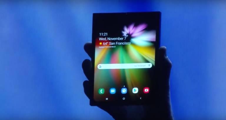 Spoločnosť Samsung bude mať skladací smartphone 512 GB Pamäť? 1