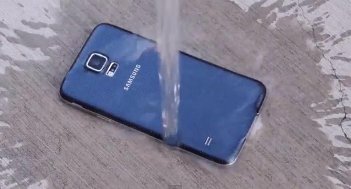 Samsung Galaxy Odolnosť voči vode S5 IP67