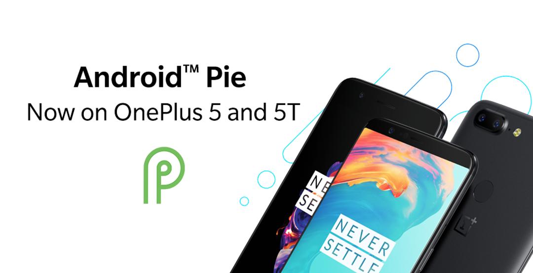 Stabilný Android Pie pre OnePlus 5 a OnePlus 5T prepustený 1