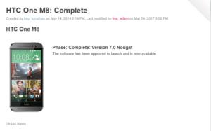 T-Mobile čoskoro uvedie systém Android 7,0 Aktualizácia Nougat pre HTC One M8 !! 3