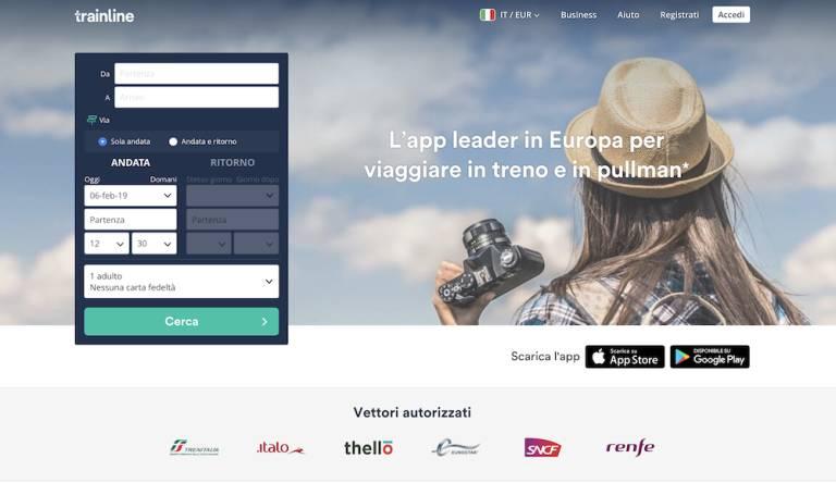"""Vlak aktivuje """"Živé cestovné poriadky"""" na získanie informácií o vlakoch Trenitalia a Italo v reálnom čase 1"""