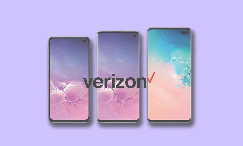 Verizon Galaxy Séria S10 dostáva aktualizáciu zabezpečenia z apríla 2019 1