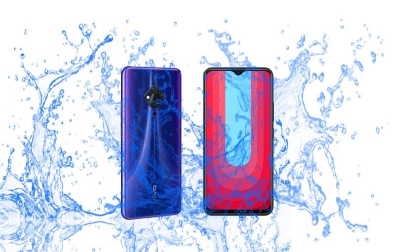 Čo je vodotesné?  Vivo S5 alebo U20? 1
