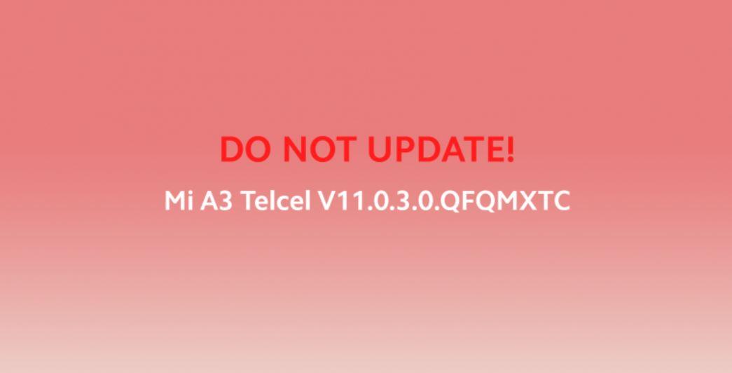 Xiaomi potvrdzuje niekoľko chýb v najnovšej júlovej aktualizácii zabezpečenia pre Mi A3 1
