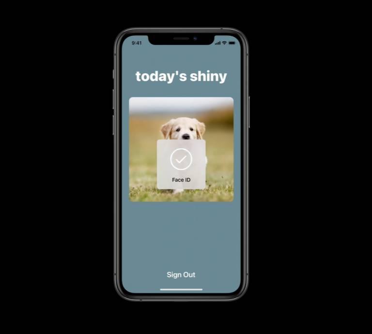 iOS 14, Safari podporuje prístup na webové stránky s Face ID: heslo na rozlúčku 1