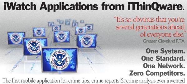 iWatch, keď sa s aplikáciou bojuje zločin 1
