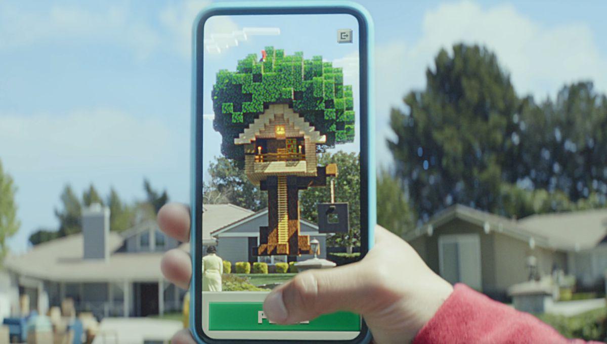 Minecraft Earth vai um passo além do Pokémon Go para cobrir o mundo em blocos 2