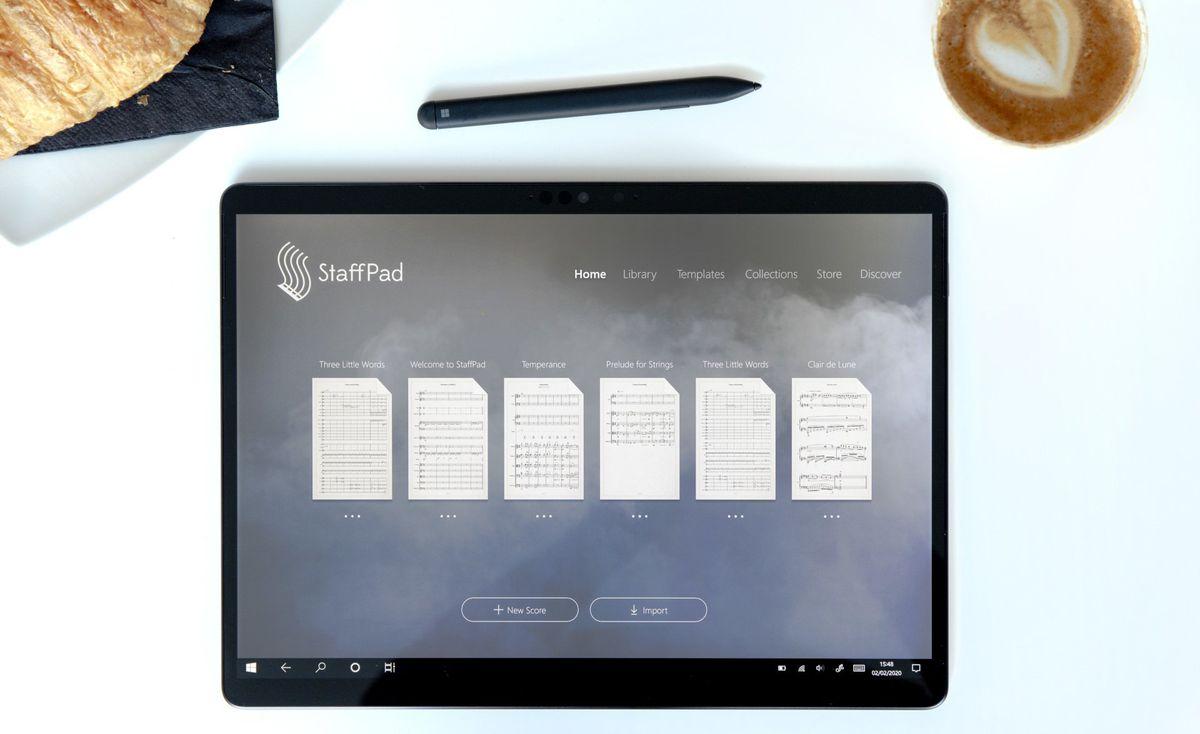 StaffPad, um impressionante Windows aplicativo de composição musical, já está disponível no iPad 2