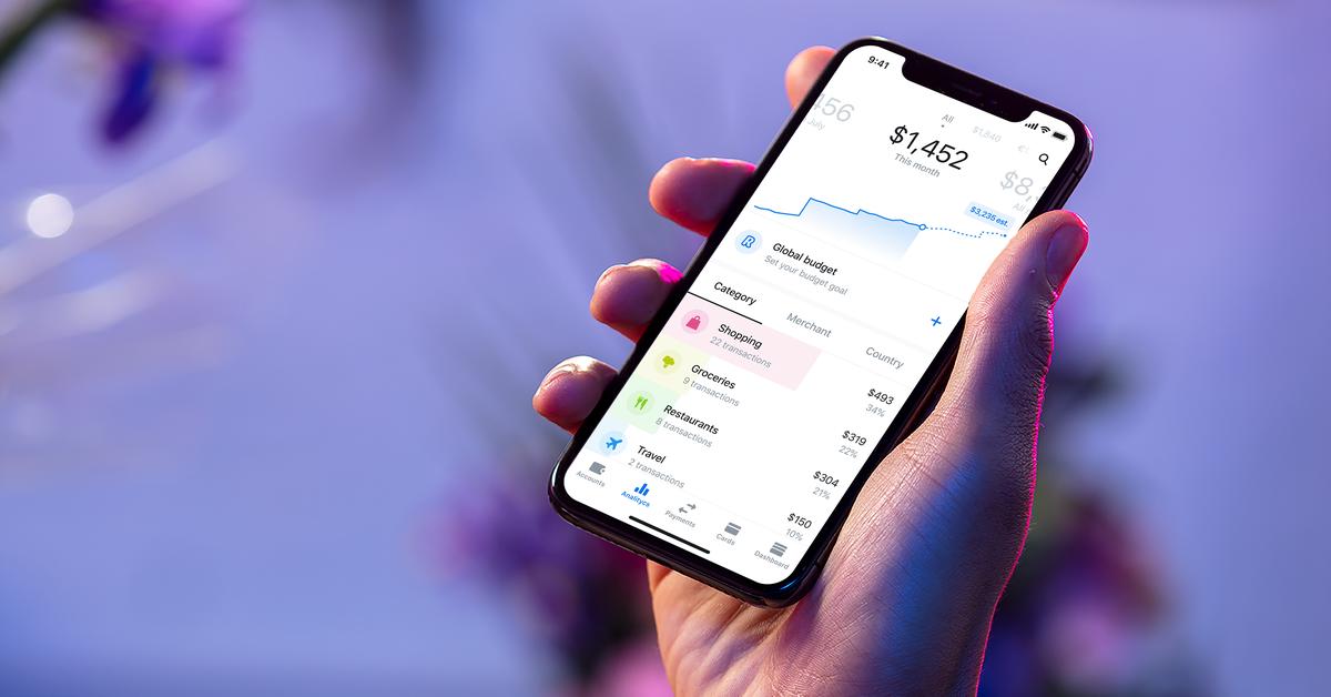 O popular aplicativo bancário europeu Revolut está sendo lançado hoje nos EUA