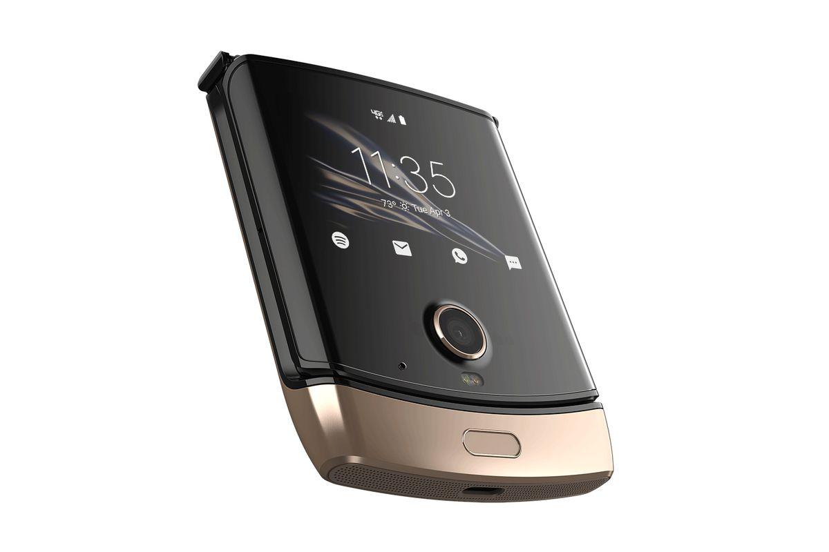 O Razr dobrável da Motorola parece ainda melhor em ouro 2