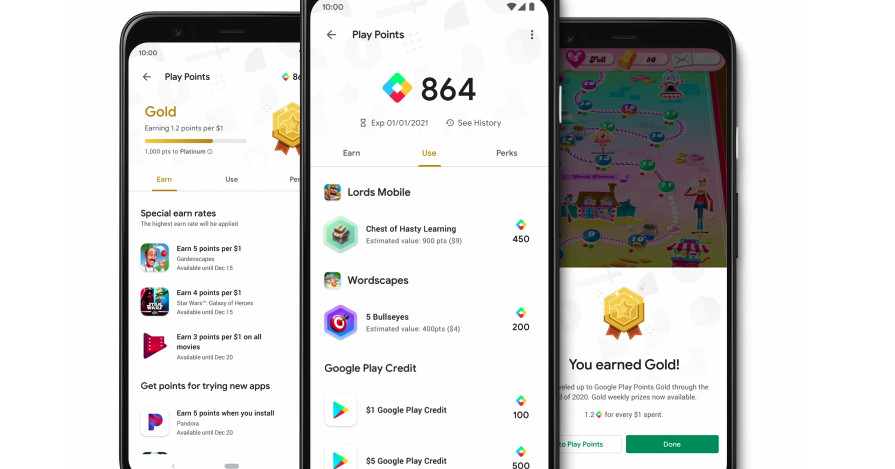 O Google está trazendo seu programa gratuito de recompensas do Google Play para os EUA