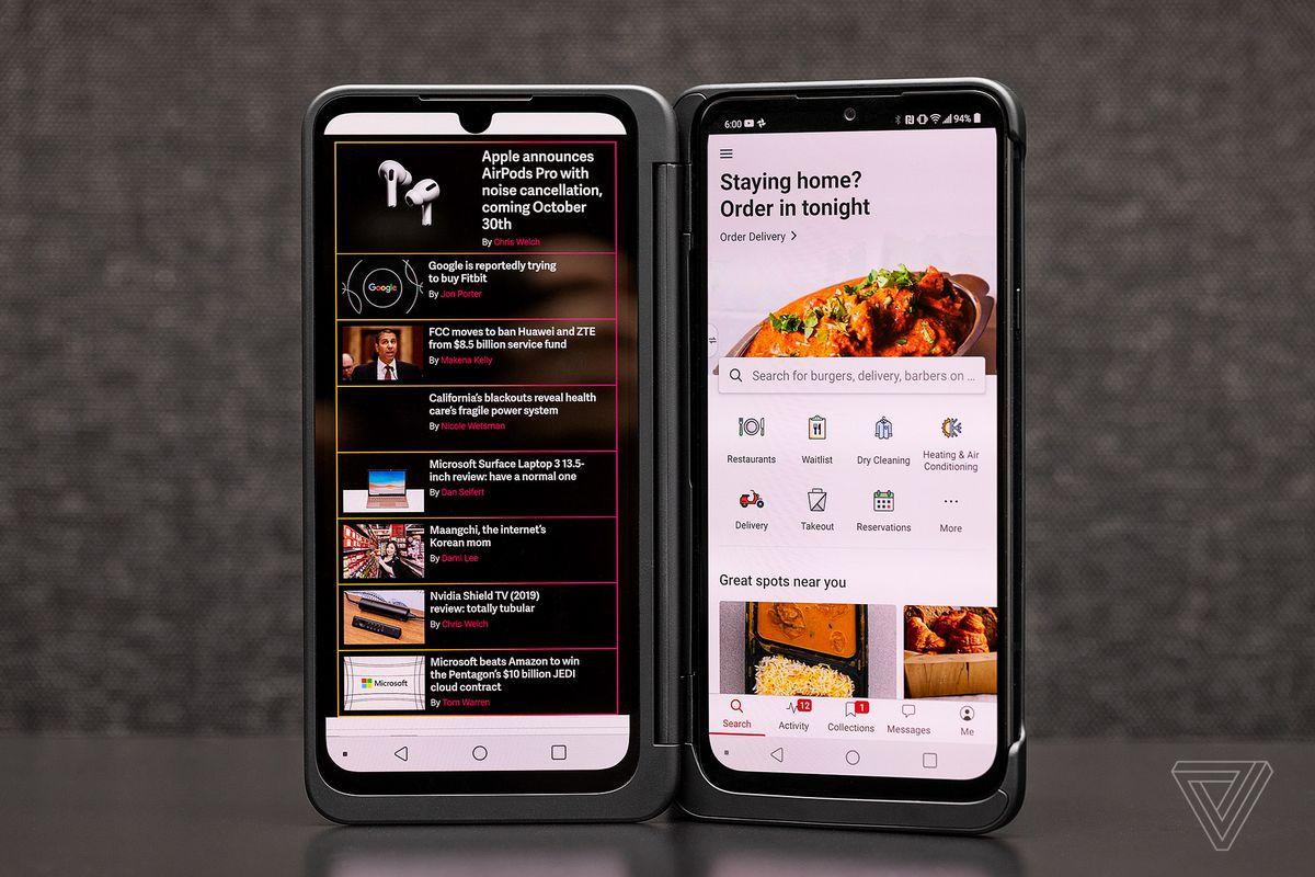 Avaliação do LG G8X Dual Screen: melhor que você pode ThinQ 6