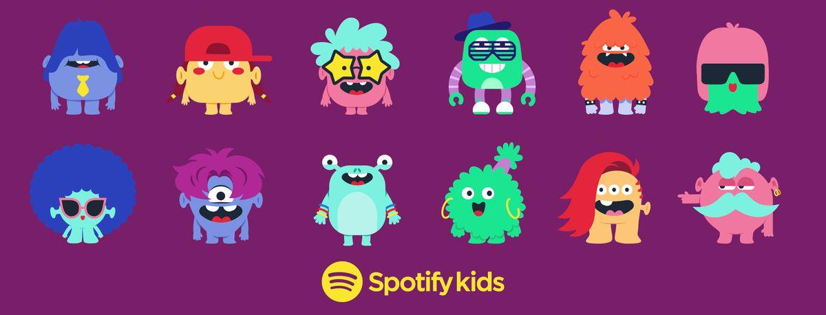 Spotify lança um aplicativo Kids dedicado, com listas de reprodução selecionadas e arte lúdica 3