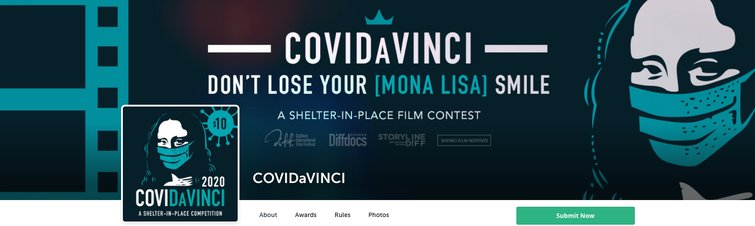 7  Melhores Festivais de Cinema Digital e Desafios de Cinema Online - COVIDaVINCI Film Festival