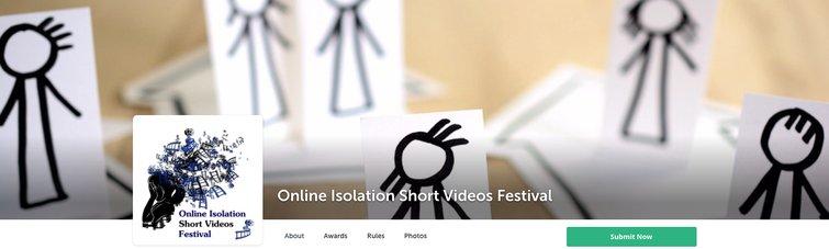 7  Melhores Festivais de Cinema Digital e Desafios de Cinema Online - Festival de Vídeos Curtos de Isolamento Online
